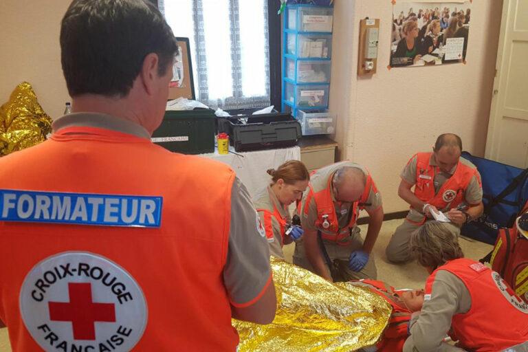 formation secourisme Croix-Rouge Pau