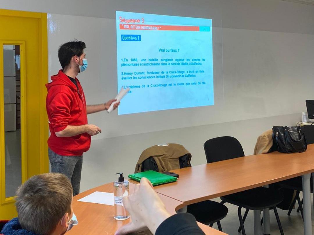 intervention-ecoles-Croix-Rouge-Pau